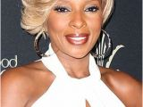 Mary J Blige Short Blonde Hairstyles A Blonde Moment for the Love Mary Pinterest