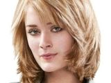 Medium Bobbed Haircuts Layered 15 Medium Length Bob with Bangs