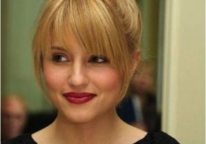 Medium Hairstyles Updos with Bangs Medium Length Hairstyles with Bangs Medium Length Idea