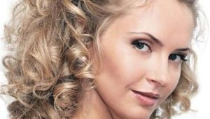 Medium Length Curly Hairstyles for Weddings Wedding Hairstyles Curly Hair Medium