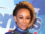 Mel B Hairstyles On America S Got Talent Mel B S Bodysuit From America S Got Talent Leaves Little to the