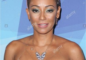 Mel B Hairstyles On America S Got Talent Mel B Stock S & Mel B Stock Alamy