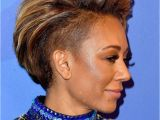 Mel B Short Hairstyles Mel B S Bodysuit From America S Got Talent Leaves Little to the