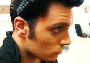 Mens Ducktail Hairstyle Slickville Mr Ducktail