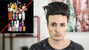 Mens Hairstyles and Products How to Have Great Hair with No Hair Product