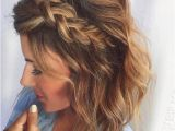 Messy Braid Hairstyles for Short Hair 17 Easy Updos for Short Hair