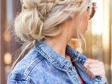 Messy but Cute Hairstyles 103 Messy Bun Hairstyles