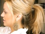 Messy but Cute Hairstyles 20 Ponytail Hairstyles Discover Latest Ponytail Ideas now