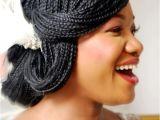 Micro Braids Hairstyles for Weddings Bridal Box Braids Wedding Hairstyles