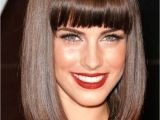 Mid Length Bob Haircuts with Bangs 15 Ultra Classic Bob Hairstyles with Diverse Bangs