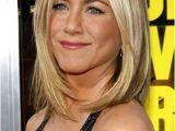 Mid Length Hairstyles Jennifer Aniston Jennifer Aniston Medium Straight Cut Fashion Style