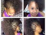 Mixed Girl Hairstyles Braids Cornrows Mixed Girl toddler Halfro Hairstyles