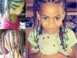 Mixed Girl Hairstyles Braids Mixed Hair Braids Little Girl Hair Style