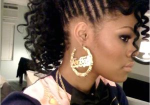 Mohawk Hairstyle with Braids Braided Hairstyles for Black Girls 30 Impressive