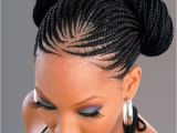 Names Of Braided Hairstyles Braid Bun Hairstyle