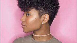 Natural Black Hairstyles and Care the Perfect Braid Out On A Tapered Cut