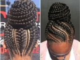 Natural Braided Hairstyles 2014 Braided Bun Black Natural Hairstyles In 2018 Pinterest