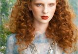 Natural Curly Red Hairstyles Long Natural Red Hair Tumblrby Aneta Kowalczyk Red Hair
