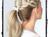 Nice and Easy Hairstyles for School Beautiful Simple Hairstyles for School Look Cute In