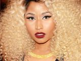 Nicki Minaj Curly Hairstyles Nicki Minaj Met Gala Dress 2013 Rapper Plays It Safe In A