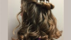 Occasion Hairstyles Down Twists and Curls Pretty Down Style for Wedding Prom or Othe…