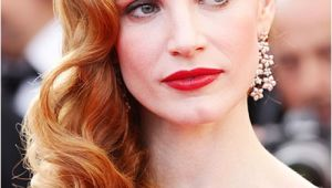 Old Hollywood Wedding Hairstyles Old Hollywood Inspired Wedding Hair Jessica Chastain S