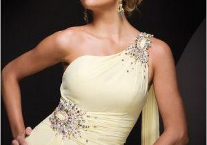 One Shoulder Wedding Dress Hairstyles Prom Hairstyles for One Shoulder Dresses