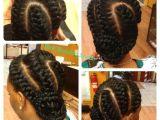 Overhand Braid Hairstyles Goddess Braids Braids Pinterest