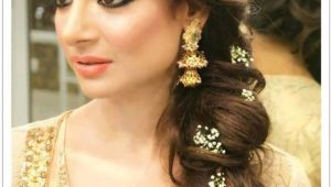 Pakistani Hairstyle for Wedding Latest Pakistani Bridal Wedding Hairstyles Trends 2018