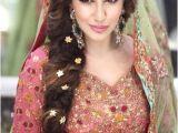 Pakistani Hairstyles for Weddings Latest Pakistani Bridal Wedding Hairstyles Trends 2018