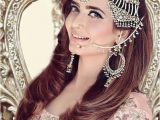 Pakistani Hairstyles for Weddings Stylish and Trendy Pakistani Bridal Wedding Hairstyle