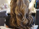 Party Hairstyles Half Up Half Down Long Hair with Loose Curls Perfect Half Up Half Down Style Follow