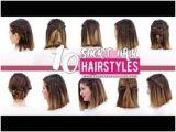 Patryjordan Easy Hairstyles for Short Hair 127 Best Easy Hairstyles Images