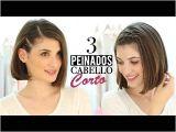 Patryjordan Easy Hairstyles for Short Hair 3 Peinados Fáciles Para Cabello Corto