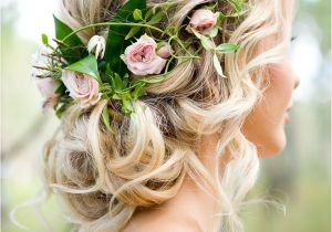 Pictures Of Wedding Hairstyles for Bridesmaids Romantic Woodland Wedding Inspiration