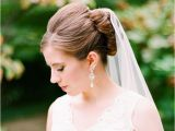 Pictures Of Wedding Hairstyles for Long Hair with Veil 27 Wedding Hairstyles that Work Well with Veils