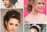 Pin Up Hairstyle for Curly Hair 25 Simple and Stunning Updo Hairstyles for Curly Hair Haircuts