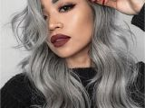 Pinterest Hairstyles for Grey Hair 13 Grey Hair Color Ideas to Try Colored Hair Pinterest