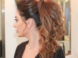 Pony Hairstyles for Curly Hair 30 Eye Catching Ways to Style Curly and Wavy Ponytails