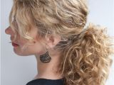 Pony Hairstyles for Curly Hair Curly Hairstyle Tutorial the Curly Ponytail Hair Romance