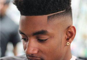 Popular Black Mens Haircuts High top Fade Haircut