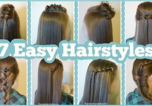 Pretty and Easy Hairstyles for School 7 Quick & Easy Hairstyles for School Hairstyles for