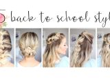 Pretty and Easy Hairstyles for School Cute Hairstyles Hairstyle for School 0