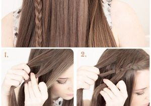 Pretty but Easy Hairstyles Fashionable Hairstyle Tutorials for Long Thick Hair