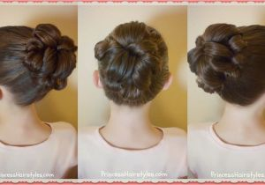 Pretty Hairstyles for A School Dance topsy Tail Bun Tutorial Quick and Easy Hairstyle for Dance