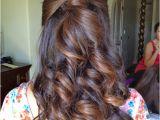 Pretty Hairstyles Hair Down Bridesmaid Half Up Half Down Hairstyle Hair In 2018