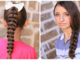 Pretty Hairstyles that are Easy Pull Through Braid Easy Hairstyles