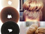 Princess Hairstyles Buns Plate Hair Donut Bun Maker Magic Foam Sponge Hair Styling tools