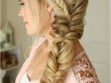 Prom Hairstyles Compilation Long Hair Style Side Braid Fishtail Braid