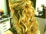 Prom Hairstyles Curls Down Bridesmaid Hairstyles Half Updos 15 Beautiful and Adorable Half Up